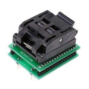 Image 5 - TQFP32 QFP32 ZU DIP32 IC Programmer Adapter Chip Test Buchse SA663 Brenn Sitz