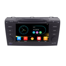 Head Unit Touch Screen Car DVD Player for  Mazda3 Mazda 3 2004-2009 GPS Navigation System 3G USB Radio RDS CD SWC GPS RADIO MAPS