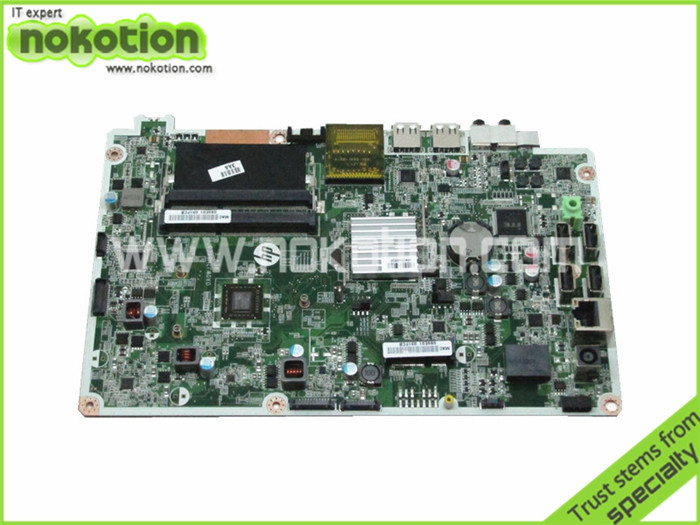 NOKOTION Motherboard for HP Omni 120-1100 690433-001 DA0WJ7MB6E0 E2-1800 Radeon HD 6320 DDR3 Laptop Logic Board High Quality original for hp cq320 cq321 motherboard 605746 001 6050a2327701 mb a02 ddr3 maiboard 100