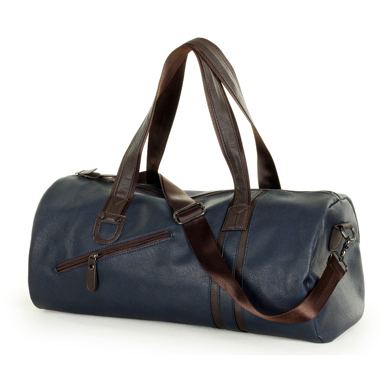 ФОТО men travel bags Barrel-shaped Men messenger bags genuine leather fashion designer handbags high quality Shoulder