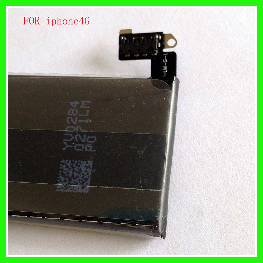 High Quality 1420mAh Li-ion Battery for iPhone 4 4G Phone Battery Rechargeable Replacement Li Polymer Internal Batteries