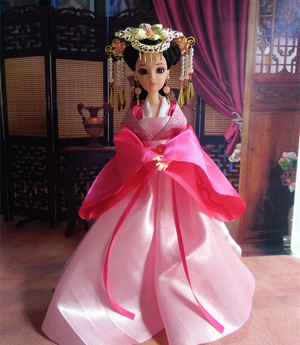 2019 new princess chinese traditional fairy ethnic doll joint movable dolls for girls presents gifts wholesale home decor