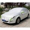 Настраиваемые! универсальный Алюминиевый Водонепроницаемый Бесшовные Навес для Автомобиля Крышка Половина Обложки Защиты для Салона, хэтчбек, ВНЕДОРОЖНИК