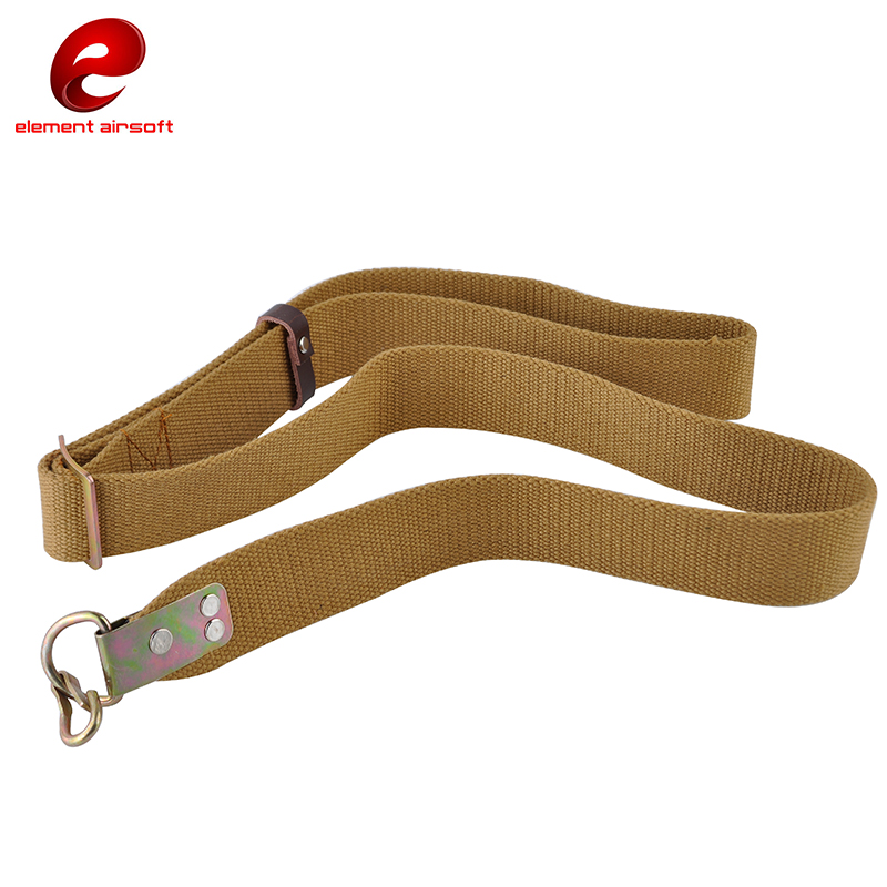 Airsoft Hunting AK Rifle Sling Outdoor Tan Desert Gun Belt Sling 1 & 2 Point Mission Strap Universal Tactical Sling Rifle CY270 my days reed camouflage car gun case bag outdoor suv seat back gun rack multi pockets truck gun sling hunting car carrier