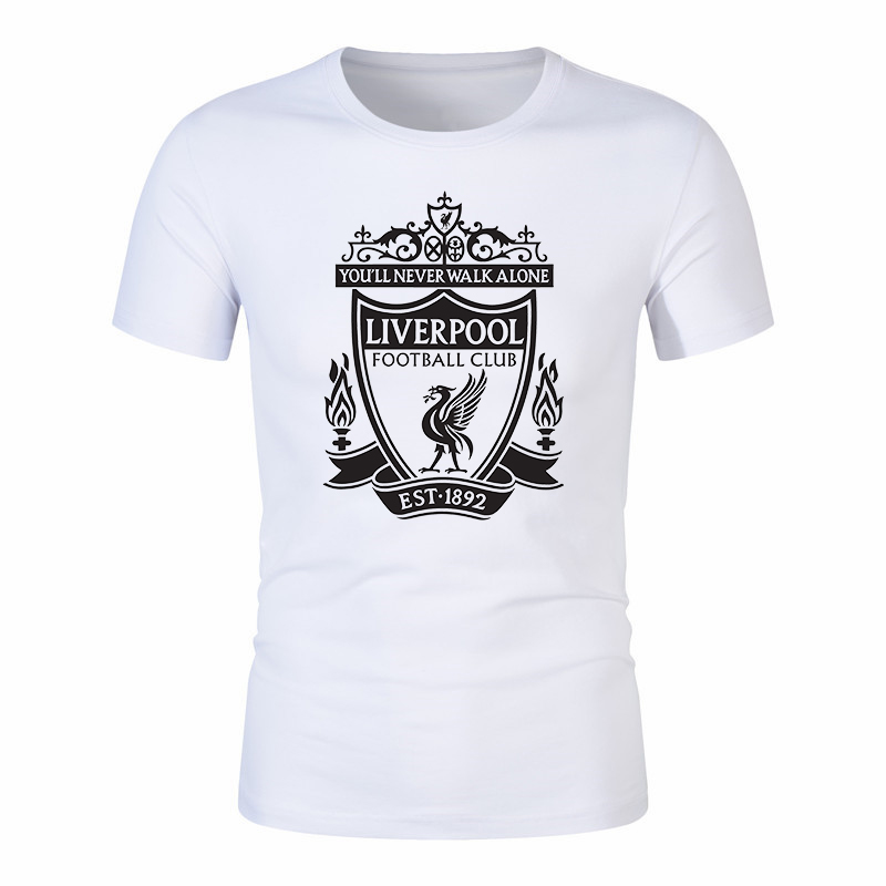 Liverpool   T     Shirt   You'Ll Never Walk Alone Football Men   T  -  Shirt   Club Ynwa Mens Gift Tee
