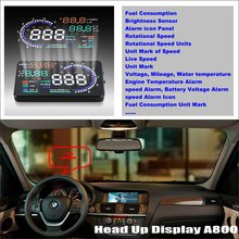 Car HUD Head Up Display For For BMW X3 E83 X5 E53 E70 X6 E71 – Safe Driving Screen Projector Refkecting Windshield