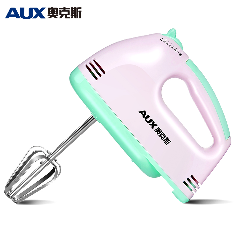 AUX 100W Egg Beater Electric Mixer Hand mixer egg blenders kitchens food processor small batedeira protable blender 7 Speeds