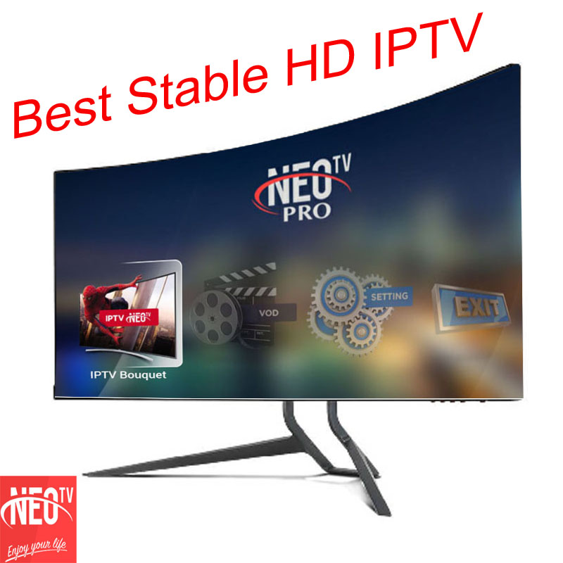Neotv europe french arabic  IPtv subscription year kodi IPTV code 1800 channels and VOD 2000 movies for set top tv box android