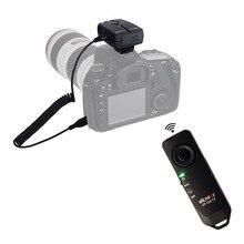 2.4 ГГц беспроводной пульт дистанционного затвора камеры для Canon 20D 40D 50D 1D 6D 7D 5D марк II III 7D2