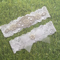 wedding Baby Girls Lace bow Headband pearl Rhinestone Headband Flower Lace Headband for Newborn Infants Hair Accessories