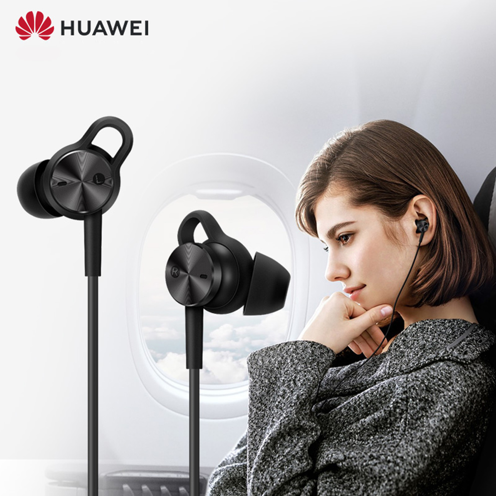 HUAWEI Active Noise Canceling Earphones 3 Hi Res Quality Music Type C Charge Free Mic Anti