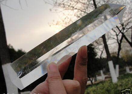 New 1pcs new 160 180MM Natural rock quartz crystal point healing hot sell