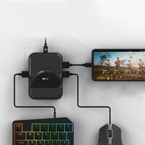 Image 1 - NEX klawiatura mysz konwerter stacja Adapter Bluetooth Dock Gamepad dla androida mobilna gra PUBG uchwyt nie trzeba pobrać oprogramowanie