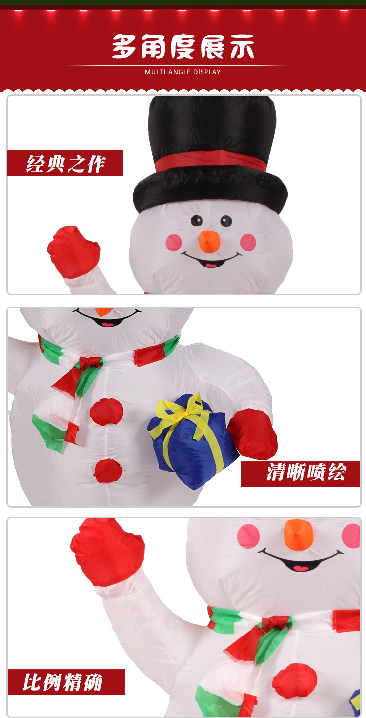 snowman outdoor christmas decorations undefined