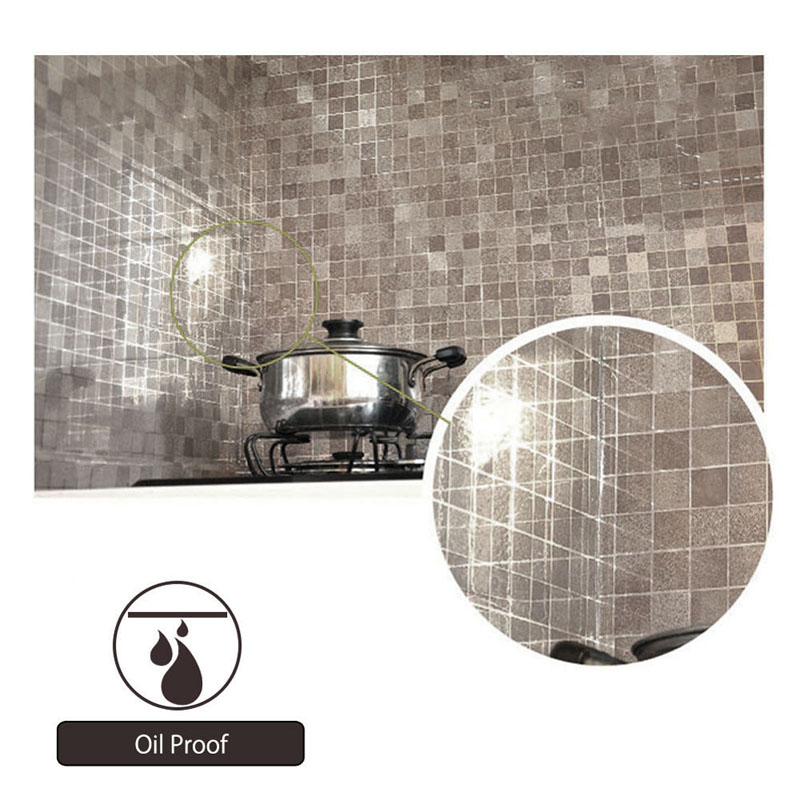 Waterproof Wall Sticker Mosaic Foil Bathroom Kitchen Self adhensive ...