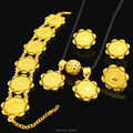 New Arrival Gold Ethiopian Coin Jewelry Sets 24K Gold Plated Necklace/Pendant/Earring/Ring/Bnagle African Bridal Wedding Jewelry