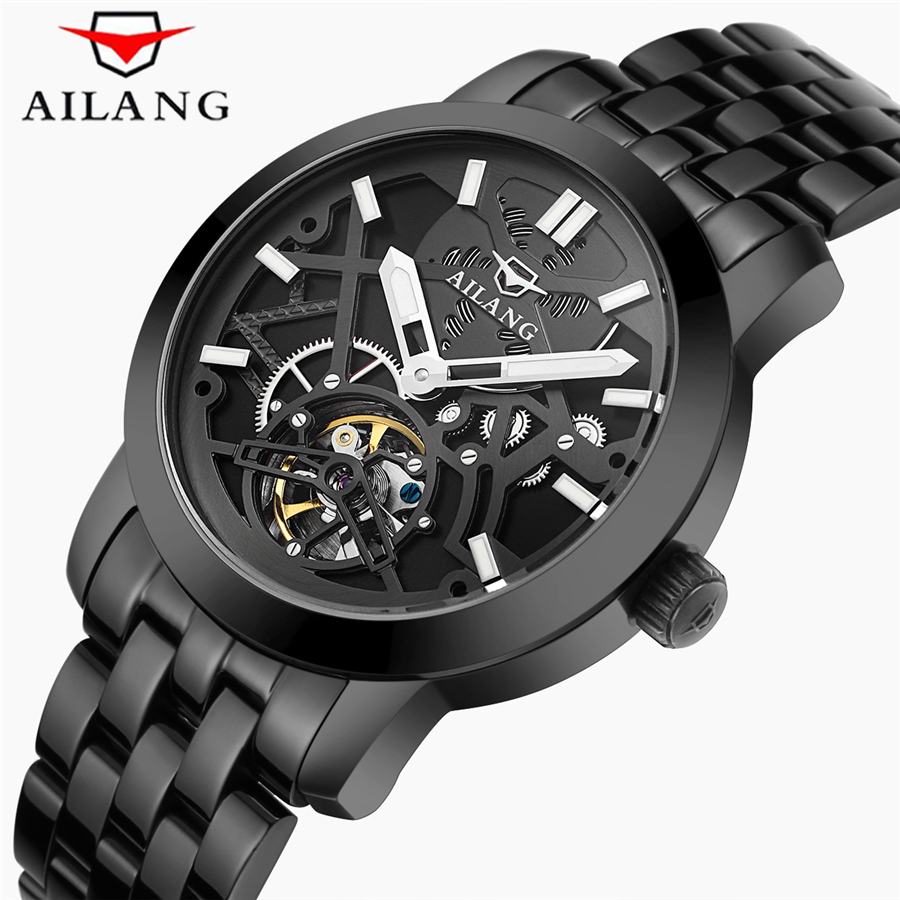 kinyued brand men s watches automatic mechanical watch men sport military wrist watches man stainless steel black clock relojes KINYUED Brand Men's watches Automatic Mechanical Watch Men sport Military Wrist watches Man Stainless Steel Black Clock Relojes