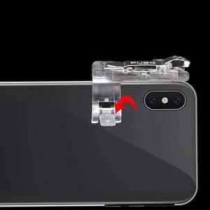 Image 2 - 2 piezas PUBG móvil Gamepad Joystick móvil disparador de botón de fuego disparador L1R1 Joystick para iPhone Xiaomi teléfono Gaming
