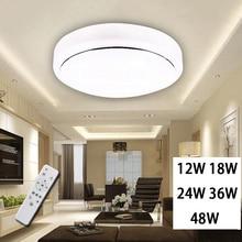 Потолочные светильники алюминий + акрил Высокая яркость 220 в 230 в 240 В, светодиодный чип нет необходимости драйвер 12 Вт 18 Вт 24 Вт 32 Вт светодиодный потолочный светильник