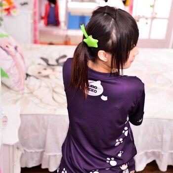 Japanese Anime Oreimo T-shirt Kuroneko, Goko Ruri Polyester T Shirt Summer Active Animation Men Women Clothing 4