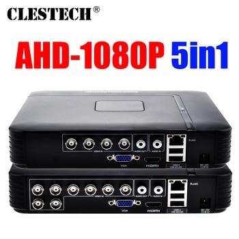 цена на Smar Mini 4/8CH Full D1 H.264 HDMI Security System CCTV DVR 4/8 Channel 720P 1080P NVR Hybrid AHD DVR Recorder Mobile HVR RS485
