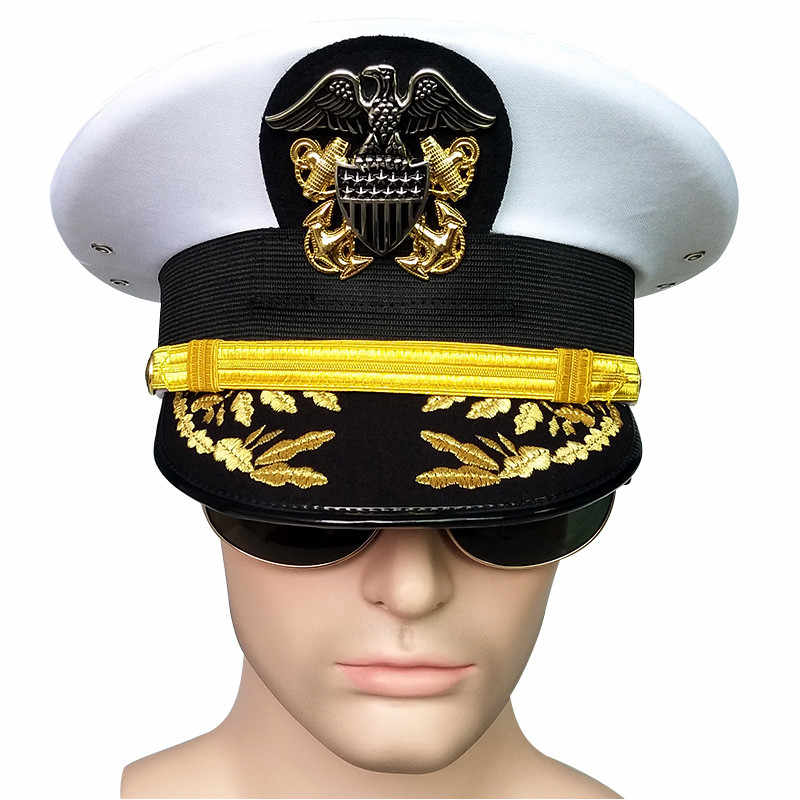 1aa76282 Detail Feedback Questions about army hat American officer Visor hats ...