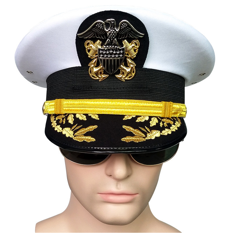Шляпа Армейская, мужская, американская, Армейская, с козырьком