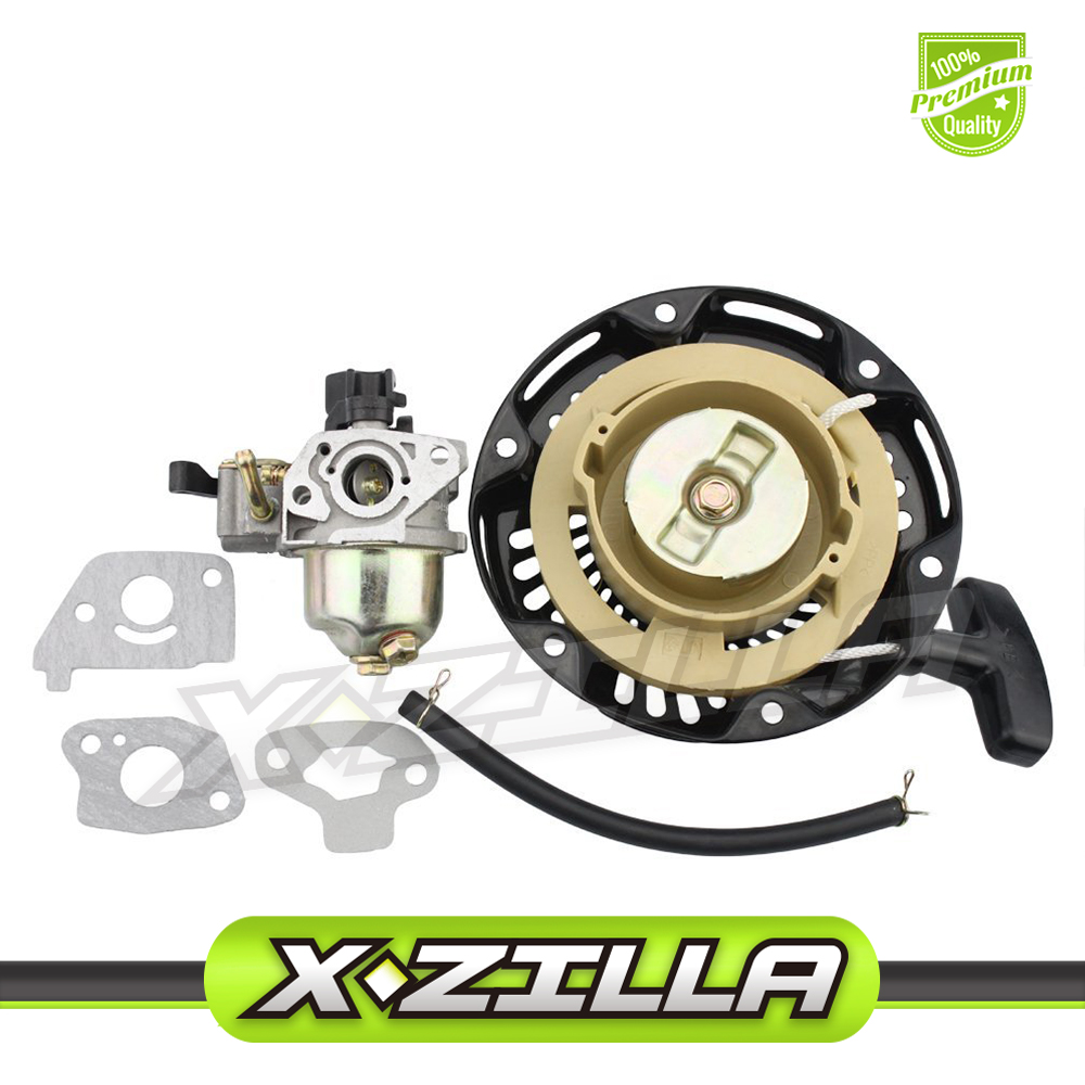 Hot Sale 19mm Carburetor with Pull Starter for 97cc 2.8hp Mini Baja ...