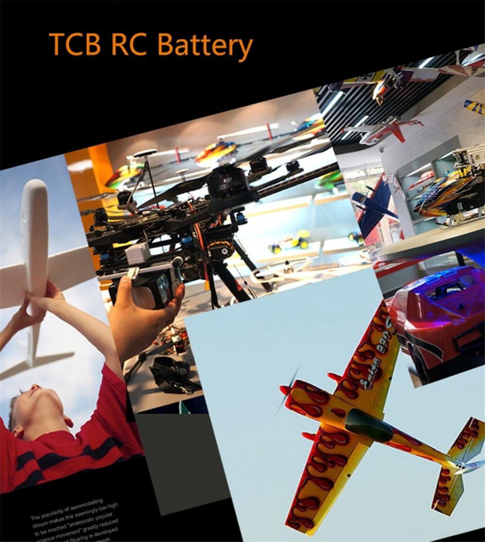 Li-Po TCB battery airplane 6