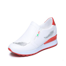 hot sale white women sport shoes Outdoor comfort women running shoes zapatillas deportivas mujer high quality sneakers