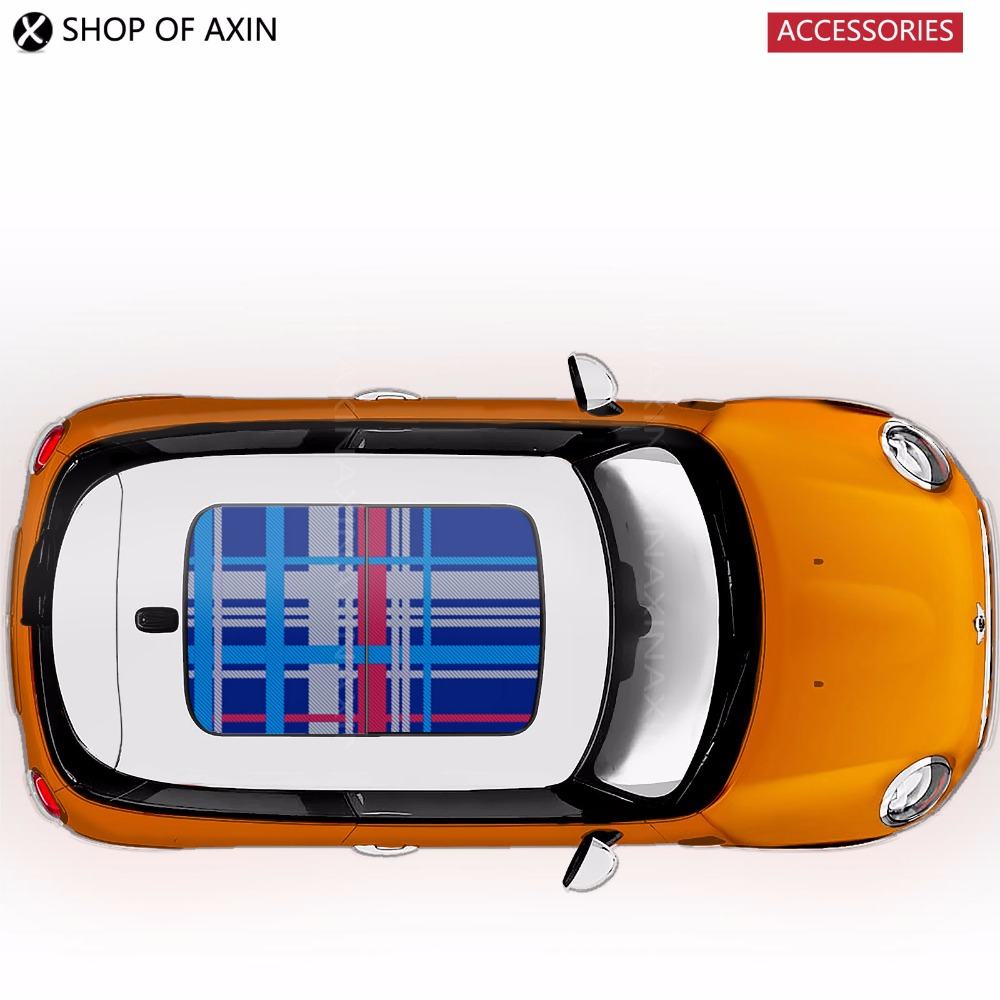 Speedwell blue sun roof Graphics stickers Sunroof for MINI Cooper clubman countryman  R50 R52 R53 R55 R56 R60 R61 F54 F55 F56 погружной блендер philips hr 1605 00 daily collection