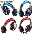 CADA G9000 USB + 3.5 MM Computador Gamer PS4 Gaming Headset Fone De Ouvido Para PC Portátil Com MICROFONE