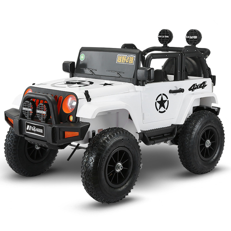 Four Wheel Drive Kids Electric Cars Children Car Ride On 1 5 Years Riding Toy Off Road Vehicle With Pneumatic In From Toys