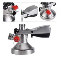 G Type Keg Coupler Set Draft Beer Dispenser w/ Air Valve Bar Home Brew Tool Kit