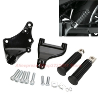 Foot Pedal For 14 17 Harley Iron Sportster XL 883 1200 Superlow Custom Rear Footrest Passenger