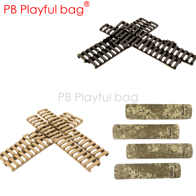 Outdoor sports Playful bag DIY product NERL M4 M16 fish bone protection bar plastic water bullet gun accessories OA22