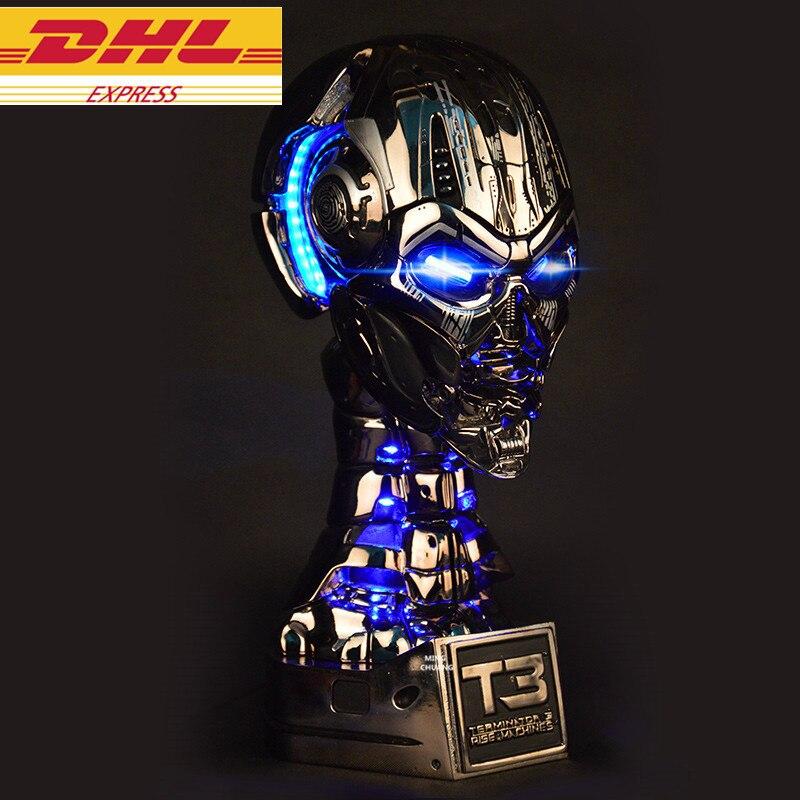 Terminator 1:1 Ascensore-Size Statua di Arnold Schwarzenegger Half-Length Foto O Ritratto T3 Cranio Endoscheletro Del Busto OCCHIO LED resinaTerminator 1:1 Ascensore-Size Statua di Arnold Schwarzenegger Half-Length Foto O Ritratto T3 Cranio Endoscheletro Del Busto OCCHIO LED resina