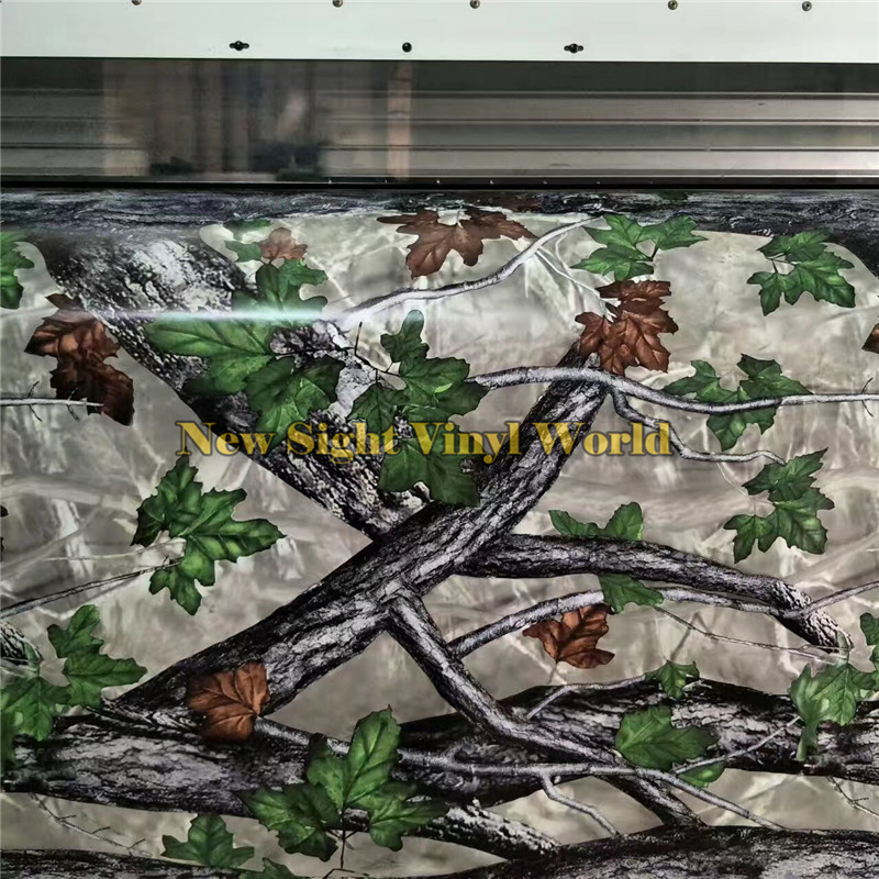 REALTREE CAMOUFLAGE VINYL FILMS Camouflage wrap Nature Hunting For Truck Jeep Size:1.50*30m/Roll