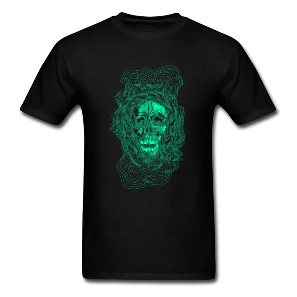 Old Skull Tshirt 100 Cotton T Shirt for Men Hip hop Top T shirts Comics Dominant O Neck Sweatshirts Short Sleeve Free Shipping in T Shirts from Men 39 s Clothing