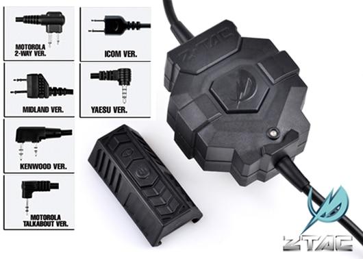 Element z TAC Z Tactical Ztac Style Wireless PTT Z123