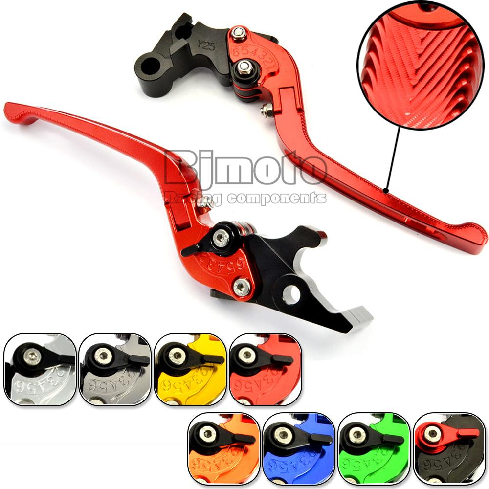 CNC Motorcycle Long Adjustable Foldable Brake Clutch Lever Set For Honda CBR250R 2011-2013 CBR300R 2014-2015 Motorbikes Brakes