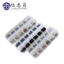 Микро-винты для очков с круглой головкой самонарезающие электронный маленький шурупов для ногтей комплект ПК болтов и гаек 1200 шт./компл. M1 M1.2 M1.4 M1.7