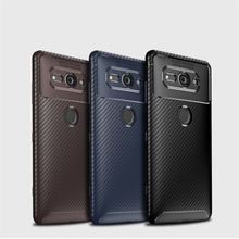 For Sony Xperia XZ2 Compact Case Soft Silicone Shockproof Matte Ultrathin Fiber Back Cover for Coque H831 cover