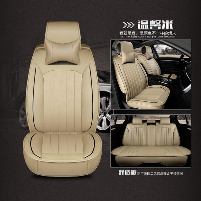 Frente traseira de couro tampa de assento do carro para hyundai elantra para 2013 à prova d' água assento assentos de carro capas para ford fiesta 2013 para c200 co