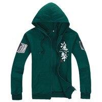 Attack on Titan Jackets Cosplay Costume Shingeki no Kyojin Legion Scouting Sweater for Women Men