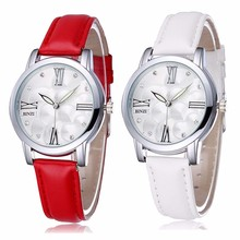 Hotsale Women's Watch Ladies Dress Wrist Watches Leather Fashion Brand Casual Wristwatch Japan Quartz relojes de marca mujer2016