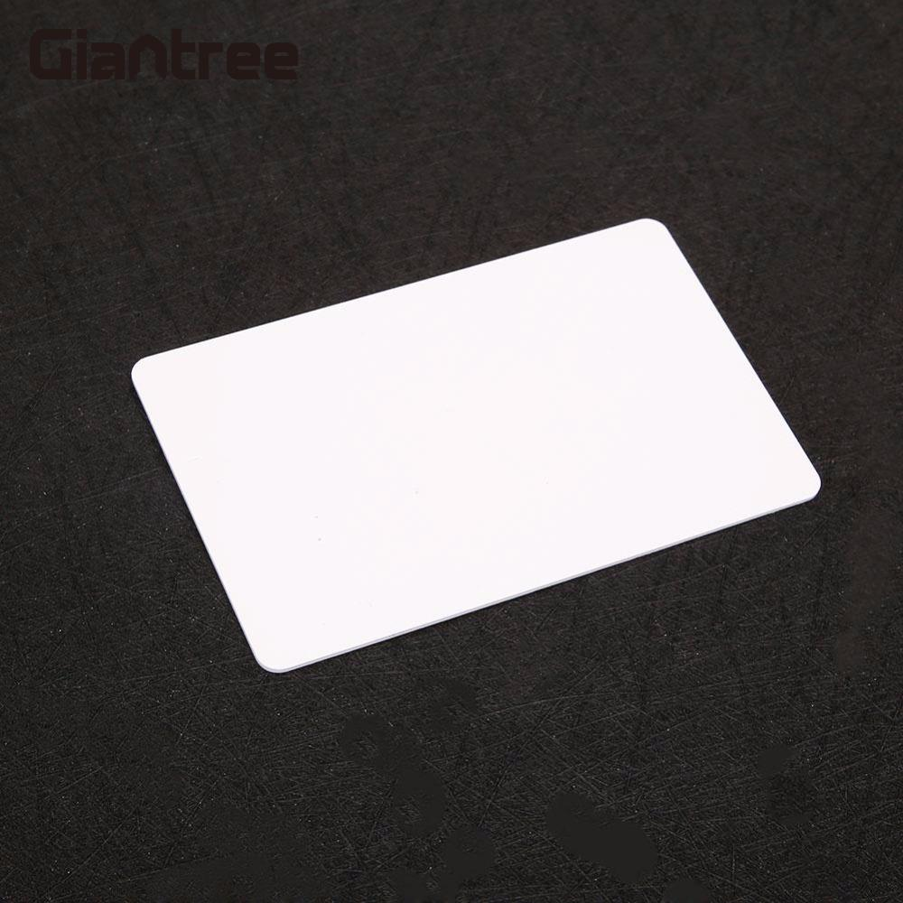 Giantree Access Control Smart NFC Card Access Control System Room Home NFC Smart Card Tag PVC Write Cards winfeng 300pcs lot 3 part plastic pvc combo loyalty cards membership cards with3 small key tag card