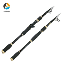 New Multifunctional Portable Telescopic Fishing Rod 1.8m-3.6m Sea Carbon Fiber Casting/Spinning Tackle Pole