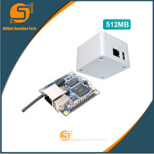 Orange Pi zéro Set4: Orange Pi Zero512MB + étui blanc de protection H2 Quad Core carte de développement Open-source au-delà de Raspberry Pi(China)