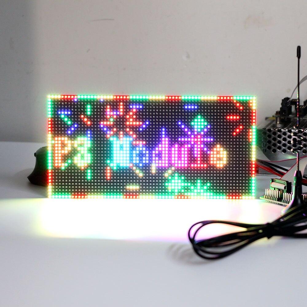 Image 2 - P2.5 Крытый полноцветный светодиодный модуль дисплея, 160 мм x 80 мм, 64*32 пикселей, SMD 3 в 1 rgb p3 светодиодный модуль, P4 P5 P6 P10 светодиодный видео модуль-in Светодиодные дисплеи from Электронные компоненты и принадлежности on AliExpress